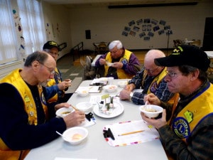 Lions Chili Judging in Phelps